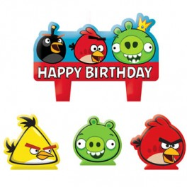 Angry Birds Candle Set
