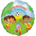 "18"" Dora & Diego Birthday Mylar Balloon"